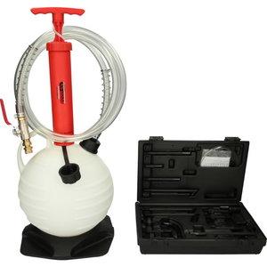 Transmission oil filling system set incl. 15 pcs adapter set, KS Tools