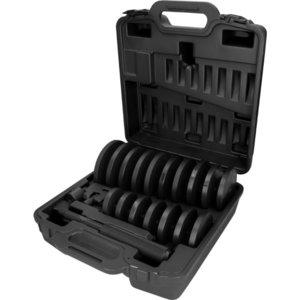 Laagrite ja pukside paigaldustööriistade komplekt, 21 osa, KS Tools