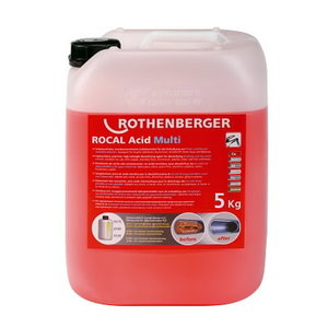 ROCAL Acid Multi vamzdžių nukalkinimo koncentratas 5kg, Rothenberger
