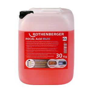 Katlakivi eemaldamise kontsentraat 30kg ROCAL Multi, Rothenberger