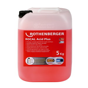 Koncentratas vamzdyno nukalkinimui 25 kg ROCAL Plus, Rothenberger