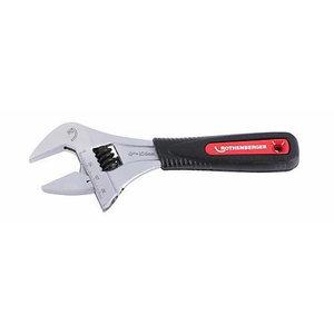 """Adjustable wrench 6"""" 34mm L=17,6cm, Rothenberger"""
