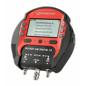 Measuring devic set. ROTEST GW Digital V3, Rothenberger