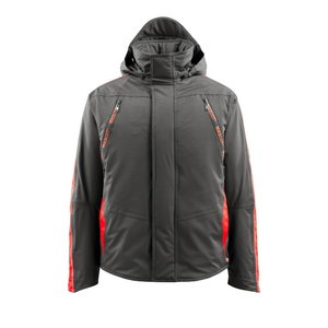 Winter jacket Tolosa  grey/red L, Mascot
