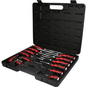 Hammer cap screwdriver set 13pcs ERGOTORQUE, KS Tools