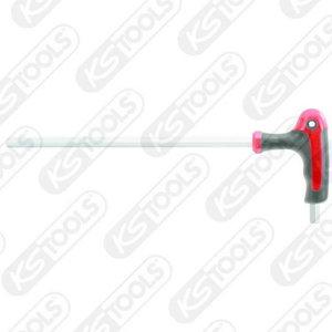 ERGOTORQUEplus T-handle hex key wrench, 3mm, KS Tools