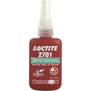 Sriegių fiksavimo klijai  (stiprūs, 38Nm)  2701 50ml, , Loctite