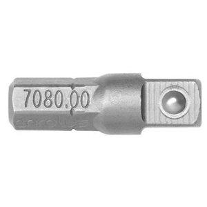 1/4'' padruniadapter trellile 7080.00 pikkus 25mm, Carolus