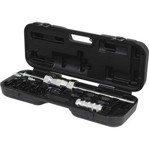 Universal injector removal kit, 14 pcs, KS Tools