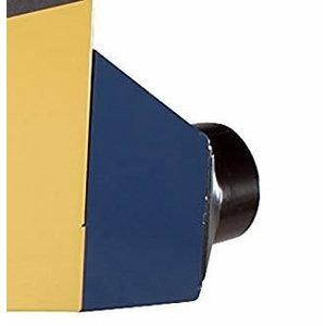 Tolmuärastus ühendus, 100 mm. Wox, Scheppach