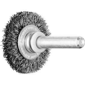 Wheel brush 30x06/6mm teras0,2mm RBU, Pferd