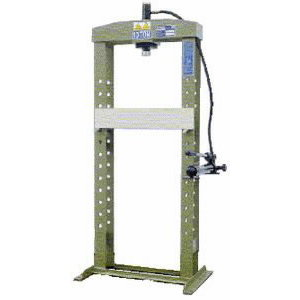 Hydraulic press 10T, 510x930mm, OMCN