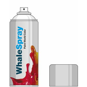 Bright zink 99,99% protective coating/spray WS1547 S 400ml, Whale Spray