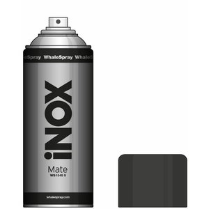 Stainless steel coating/spray, matt WS1548 S 400ml, Whale Spray