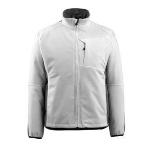 Flīsa jaka Marburg, balta/tumši pelēka L, Mascot