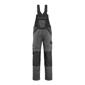 Bib-trousers Leeton anthracite/black 82C50, Mascot