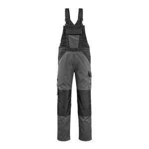 Bib-trousers Leeton anthracite/black 82C52, , Mascot