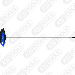 ERGOTORQUEplus T-handle TX key wrench long, T20, KS Tools