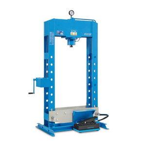 Hydropneumatic press 50T, 1330x2260mm, OMCN
