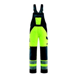 Traksipüksid Gosford kõrgnähtav CL2, kollane/t.sinine 82C48, , Mascot