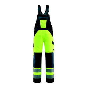 Hi.vis. bib-trousers Gosford yellow/navy, Mascot