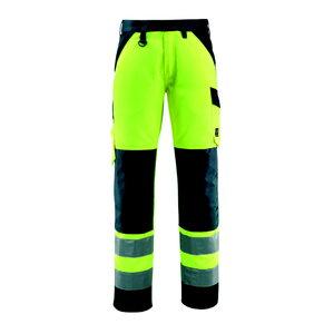Hi.vis. trousers Maitland yellow/navy, Mascot