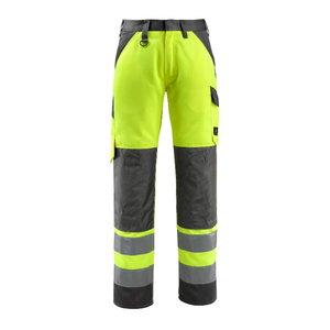 Tööpüksid Maitland kõrgnähtav CL2 kollane/t.sinine, Mascot