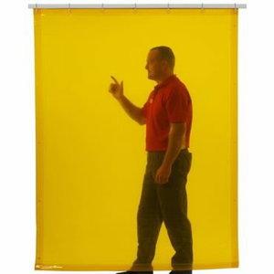 Curtain, UV-protection, yellow 160(H)x140(W)cm, Cepro International BV