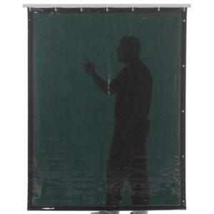 Suvirinimo užuolaidos, žalia 6 200x140cm, Cepro International BV