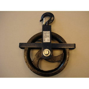 Rope pulley 200 kg max 28mm, Certex
