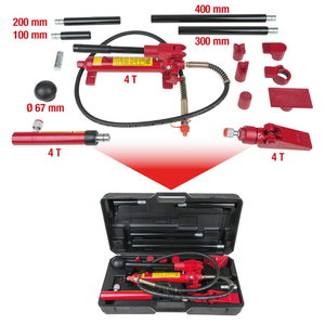 Hidraulinių  lyginimo įrankių komplektas, 4 t, KS Tools