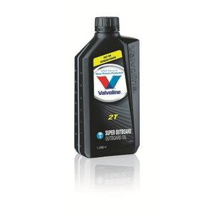 2T SUPER OUTBOARD  1л смешанное масло, VALVOLINE
