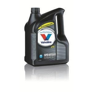 2T SUPER OUTBOARD  4л смешанное масло, VALVOLINE