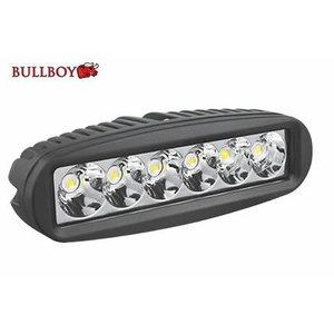 LED working light 18W (6X3W) 9-32V 1260Lm ip67