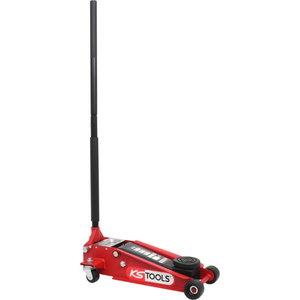Hydraulic steel trolley jack 3 t, KS Tools