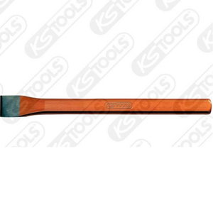 Flat chisel, oval, 250x28mm, KS Tools