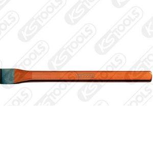 Kaltas, plokščias, ovalo formos 250x28mm, KS Tools