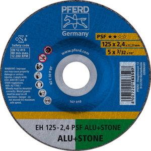 Diskas pjovimo akmeniui 125x2,4mm PSF ALU+STONE, Pferd
