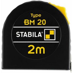 Ruletė BM20 2m 12,5mm c.II, Stabila