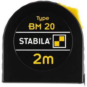 Ruletė BM20 5m 12,5mm c.II, Stabila