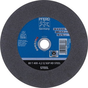 Pjov.disk.metalui 400x4,2/40mm Q SGP HD STEEL, Pferd