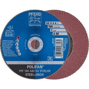 Lameļu disks 125x22 A40 SG-A PFF POLIFAN, Pferd