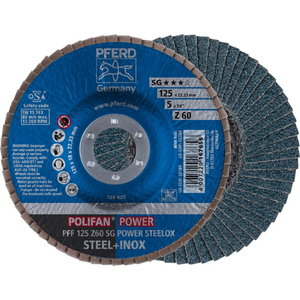 Lameļu disks 125mm Z60 SG POWER STEELOX PFF, Pferd