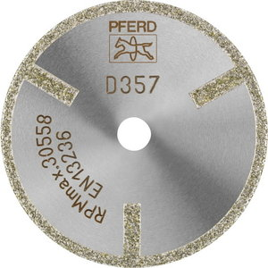 D1A1R 50-2-6 D357 GAG Dimanta disks D50X6,0, Pferd