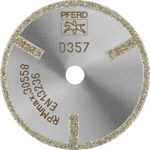 Diamant cut off wheel 50x2/6mm D357 GAG D1A1R, Pferd