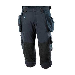 ¾ ilgio kelnės, su kišenėmis-dėklais Advanced, t.mėlyna, Mascot