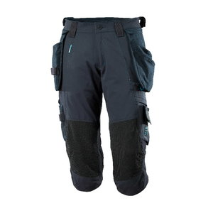 ¾ ilgio kelnės, su kišenėmis-dėklais Advanced, t.mėlyna C58, , Mascot