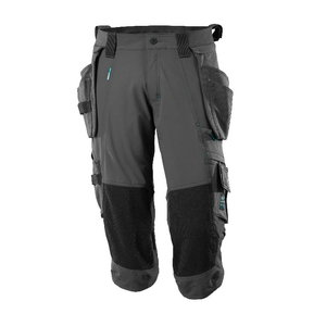 ¾ Length Trousers, holster pockets,Advanced, dark anthracite, Mascot