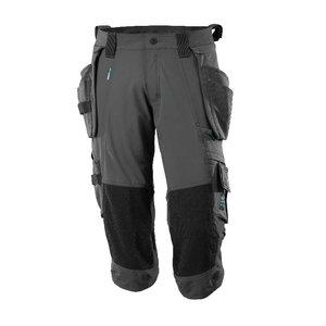 ¾ ilgio kelnės, su kišenėmis-dėklais Advanced, t. antracitas C58, Mascot