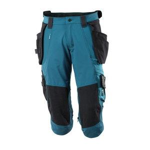 ¾ ilgio kelnės, su kišenėmis-dėklais Advanced, mėlyna C46, , Mascot